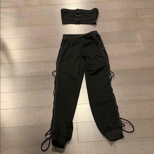 Black 2 piece set